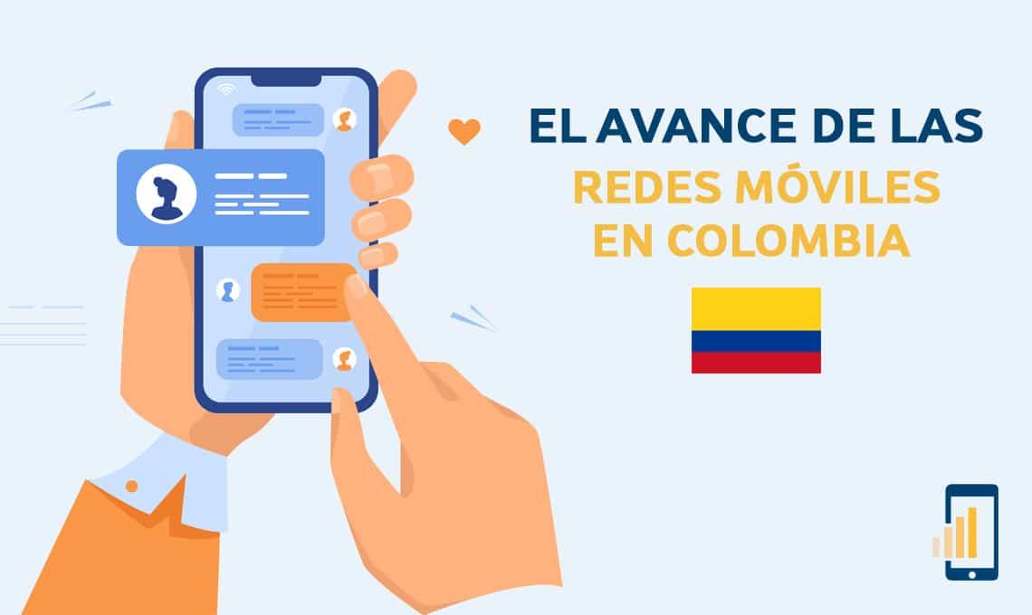 El avance de las redes móviles en Colombia